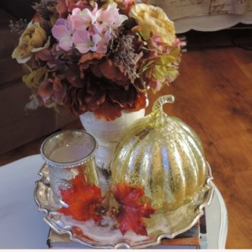 Easy Autumn Decorating Ideas & Make Yourself At Home Blog Hop