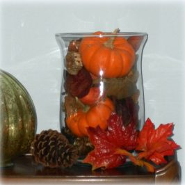 An Autumn Inspired Decorating Tip