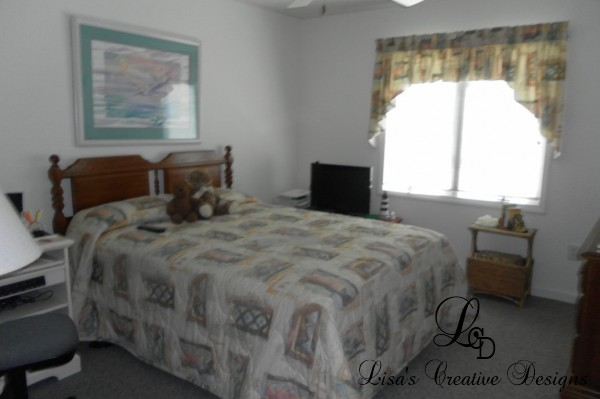 Staging A Beach Inspired Bedroom Before