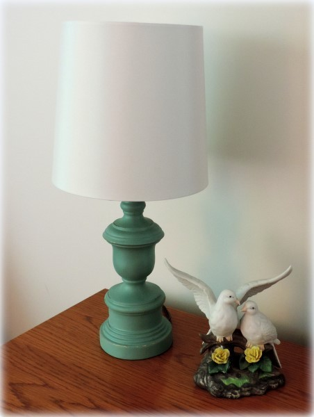 Custom Painted Lamps