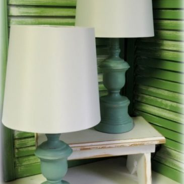 Easy Decorating: Customizing Lamps With Paint