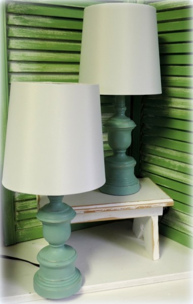 Customzing Lamps With Paint