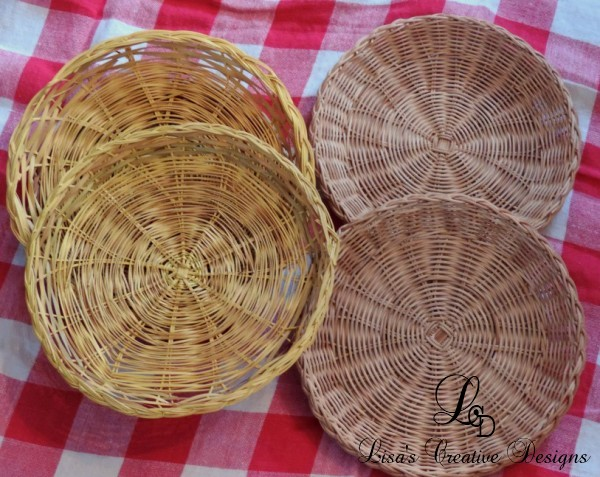 Flat Serving Baskets