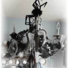 Halloween Decorating: Create A Creepy Chandelier