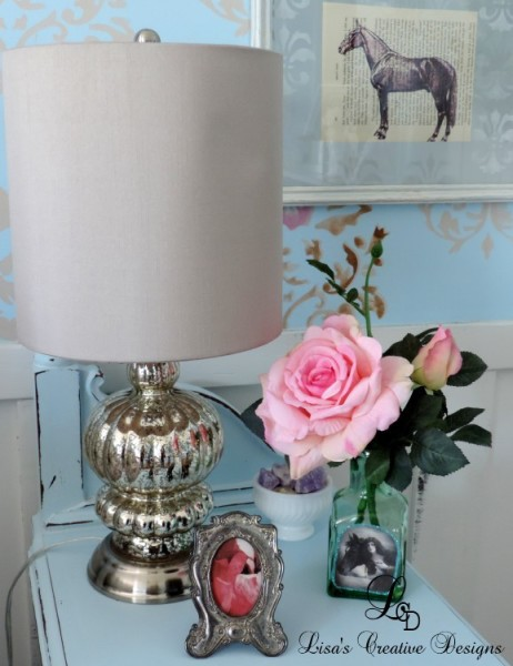 A Quick And Easy Way To Dress Up A Naked Lampshade