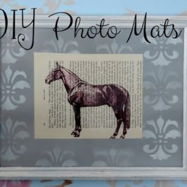 Creative DIY Photo Mat By Lisa's Creative Designs