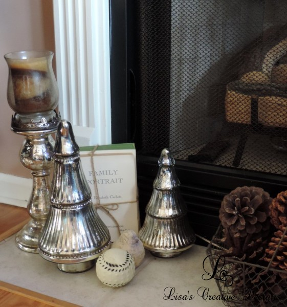 A French Country Christmas Vignette