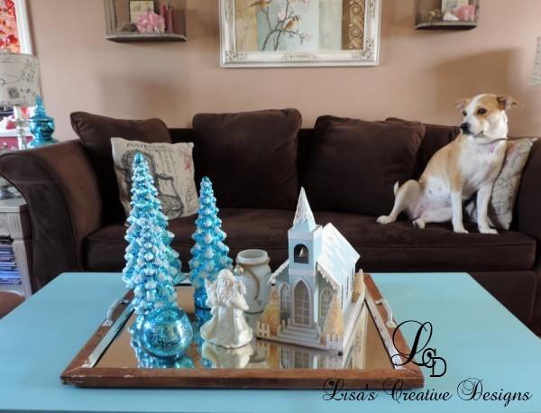 A Christmas Display and My Jackabee Jingles