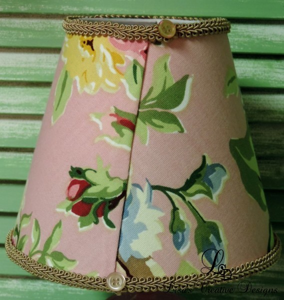 Shabby Chic Floral Lampshade