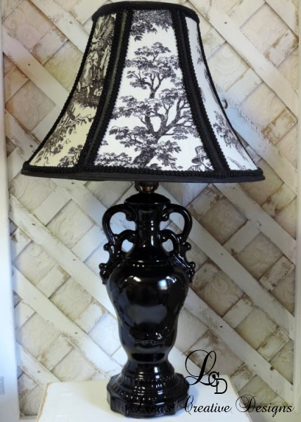 Grandma S Old China Lamp Gets A French Country Makeover