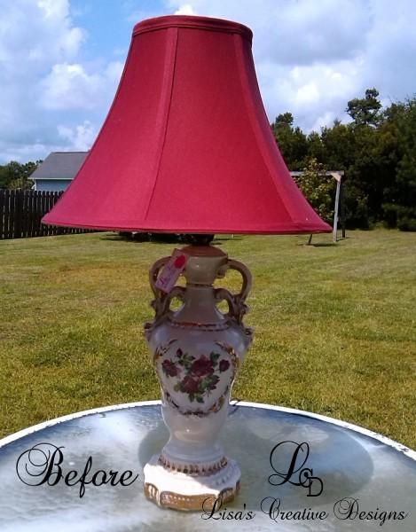Vintage China Lamp