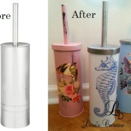 Tickled With Toilet Brush Holders, Must See Makeovers!