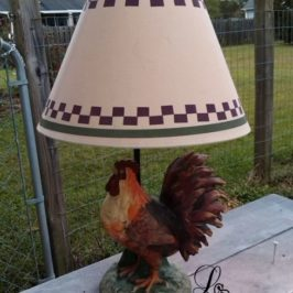 A Lamp Makeover That'll Give You Something To Crow About