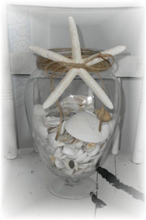 seashell ginger jar
