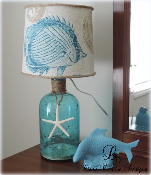 A Beach Inspired Table Lamp
