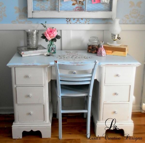Vintage Shabby Chic Desk