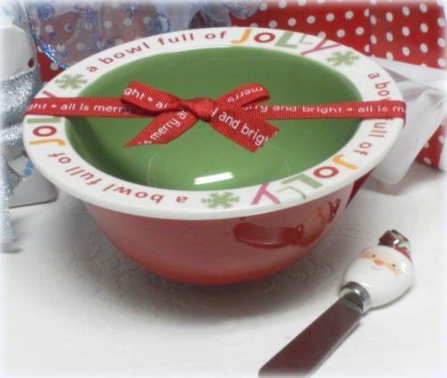 Christmas Dip Bowl