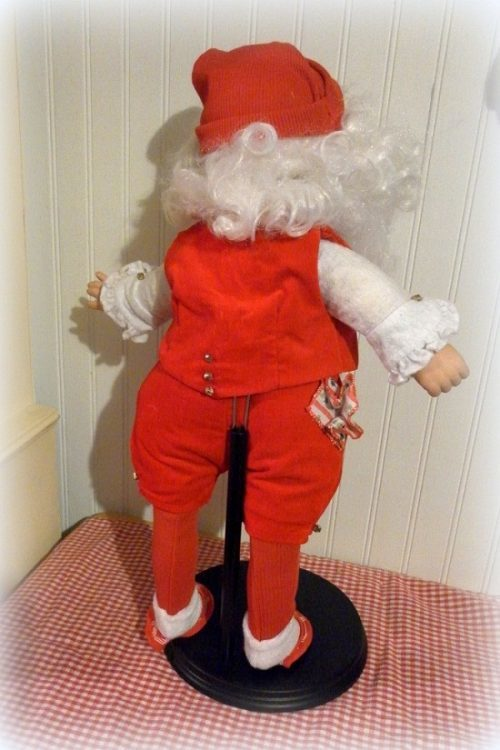 Vintage Santa Doll