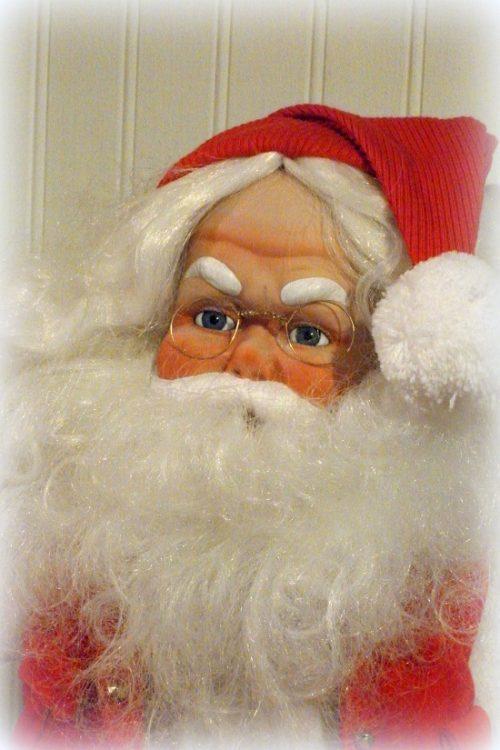 Handmade Vintage Santa Claus Doll