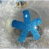 Personalized Starfish Christmas Tree Ornament