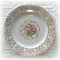 Royal Gold Trimmed Dalton Cake Plate