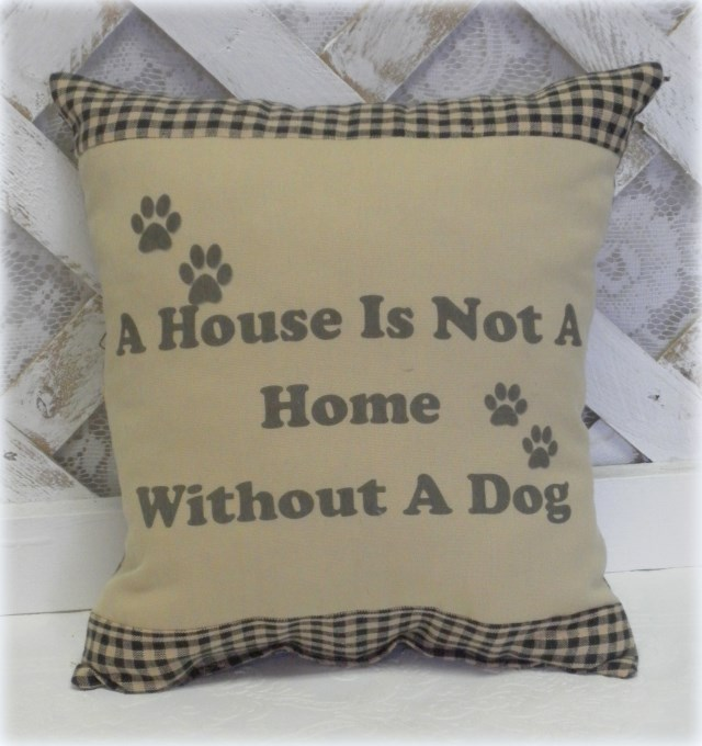 A House Is Not A Home Handmade Pillow