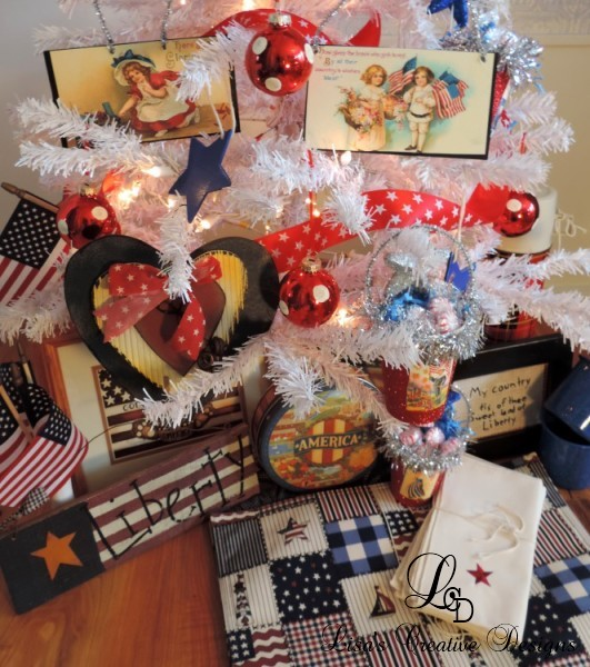 Patriotic Americana Decor