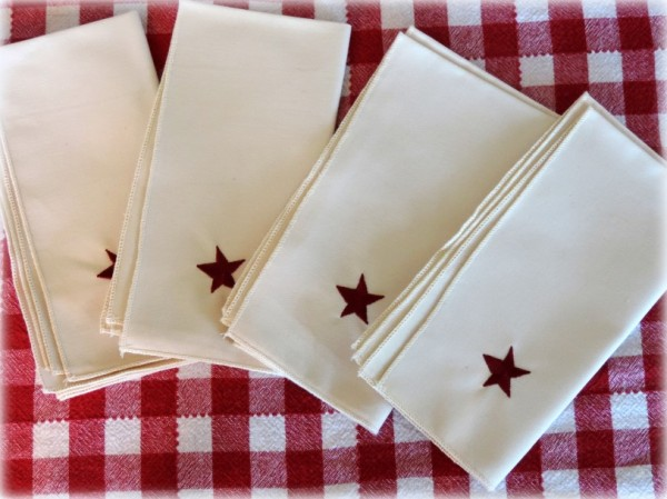 Americana Country Star Napkin Set