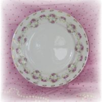 Antique MZ Austrian China Plate