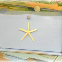 Shabby Beach Bread Box