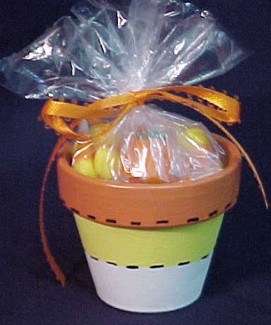 Hand Painted Candy Corn Favors For Halloween and Thanksgiving