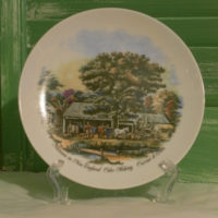 Currier and Ives Autumn Collectible Plate