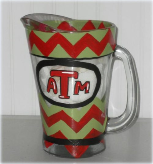 Custom Painted Dunk Pitcher