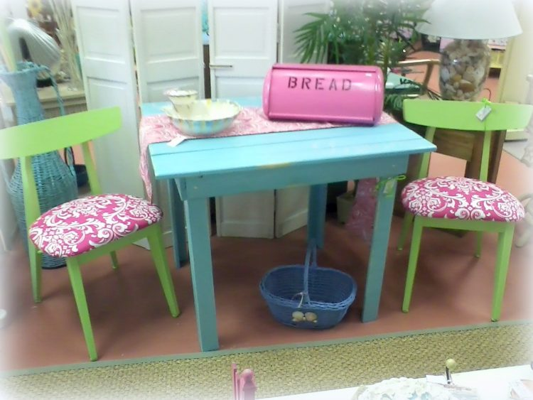 Handmade Beach Inspired Plank Table