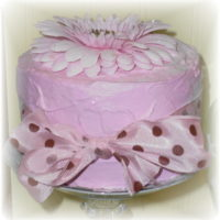 Shabby Chic Pink Faux Cake