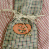 Country Pumpkin Decorative Dish Towel
