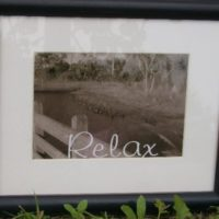 Sepia Water Inspired Photograph Relax