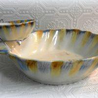 Seashell Chips and Dip Bowl Set