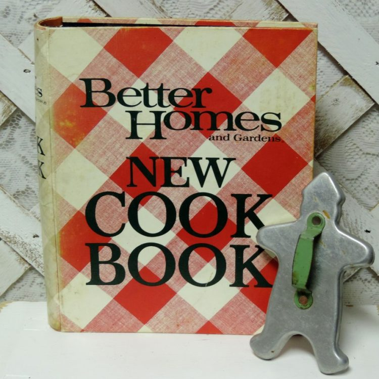 Mid century vintage better homes and gardens new cook book - Vintage better homes and gardens cookbook ...