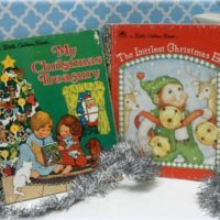 Vintage Christmas Children's Golden Books