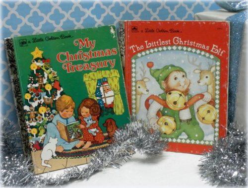 Vintage Christmas Children's Golden Books