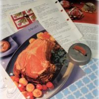 Vintage Cook Book Pages For Crafting