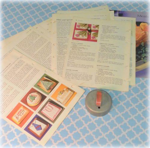 Vintage Betty Crocker Cookbook Pages