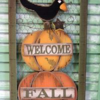 Country Style Welcome Fall Sign