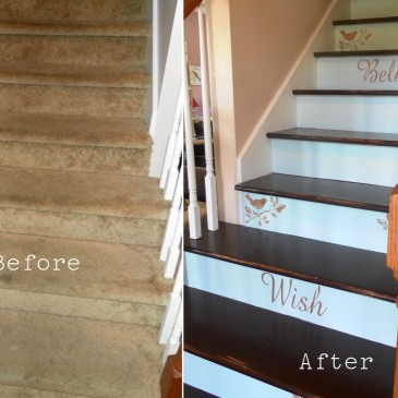 Easy Staircase Makeovers