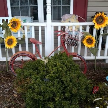 Summer Decorating With Sunflowers