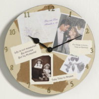 Custom Photo Memory Wall Clock