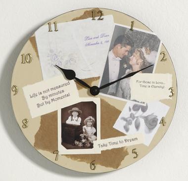 Custom Photo Memory Wall Clock