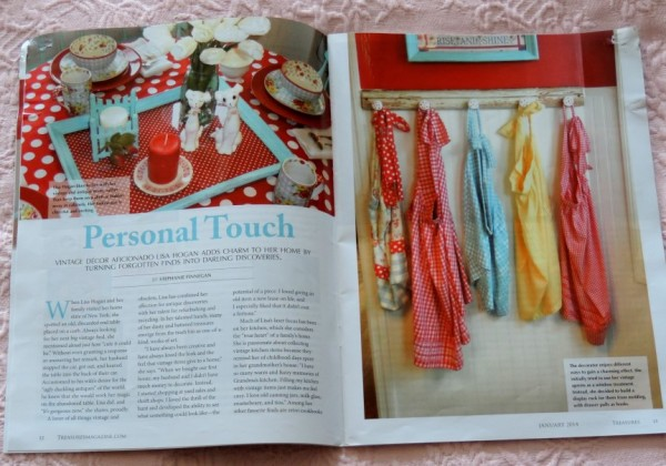 Treasures Magazine Feature