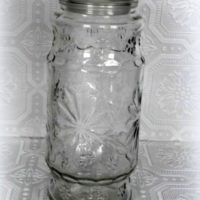 Vintage Anchor Hocking Planter's Peanut Jar